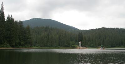 Riposo in Ucraina - lago Sinevir