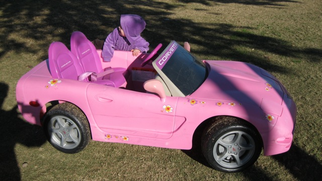 i told mommy daddy that i want a car like this for my birthday