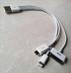Kabel Data Cas 3in1