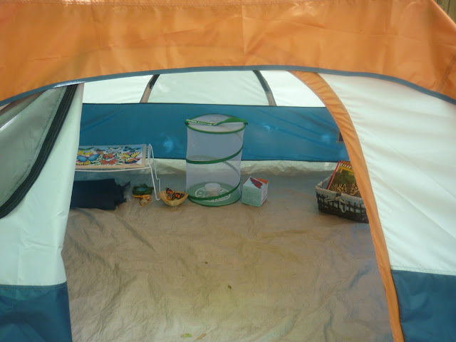 Outdoor Tent for Butterfly Unit (Photo from The Work Plan)