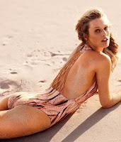 Toni Garrn sexy H&M bikini model photo shoot