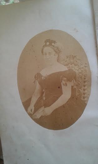 ANA AUGUSTA- 1857, PORTO- FOTÓGRAFO ALFREDO FILLON