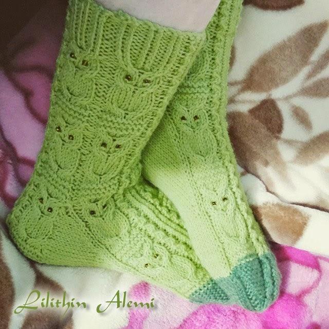 Baykuşlu çorap