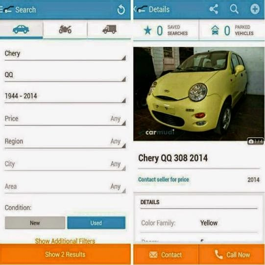 Vehicle Finder Carmudi App Launched in the Philippines