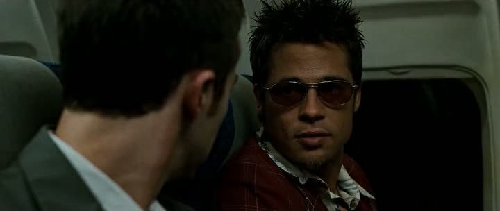 Screen Shot Of Fight Club (1999) Dual Audio Movie 300MB small Size PC Movie