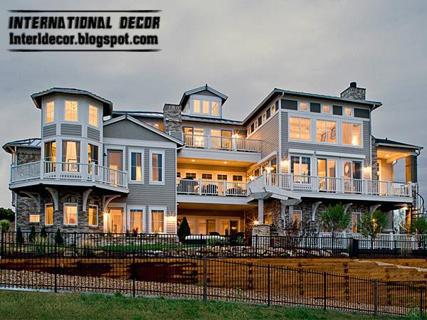 modern gray villa 2013 exterior design with exterior windows design ideas 2013 - Exterior Window Design Ideas