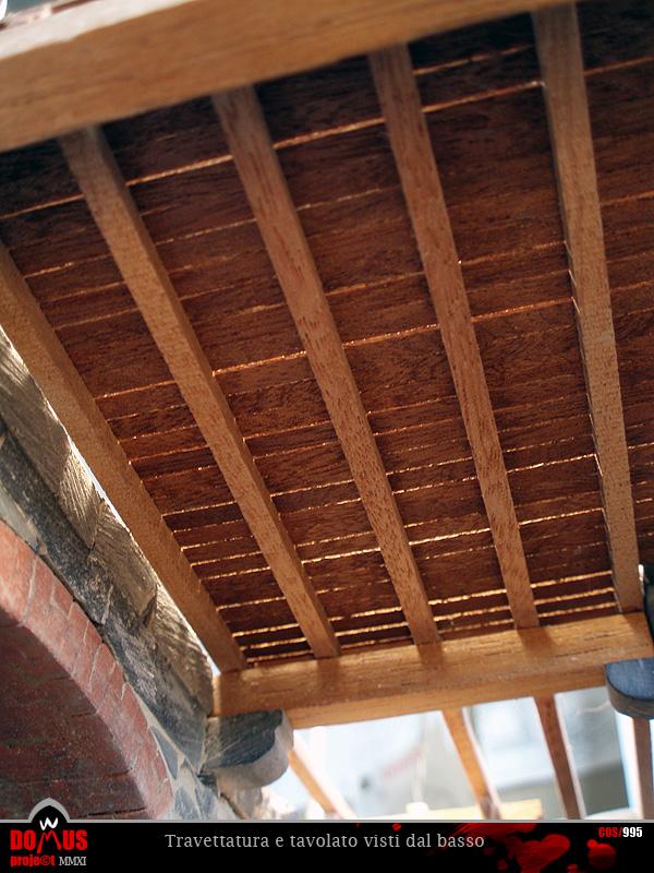 Domus project costruzione 105 solaio del piano ammezzato for Piano di costruzione in legno soppalco