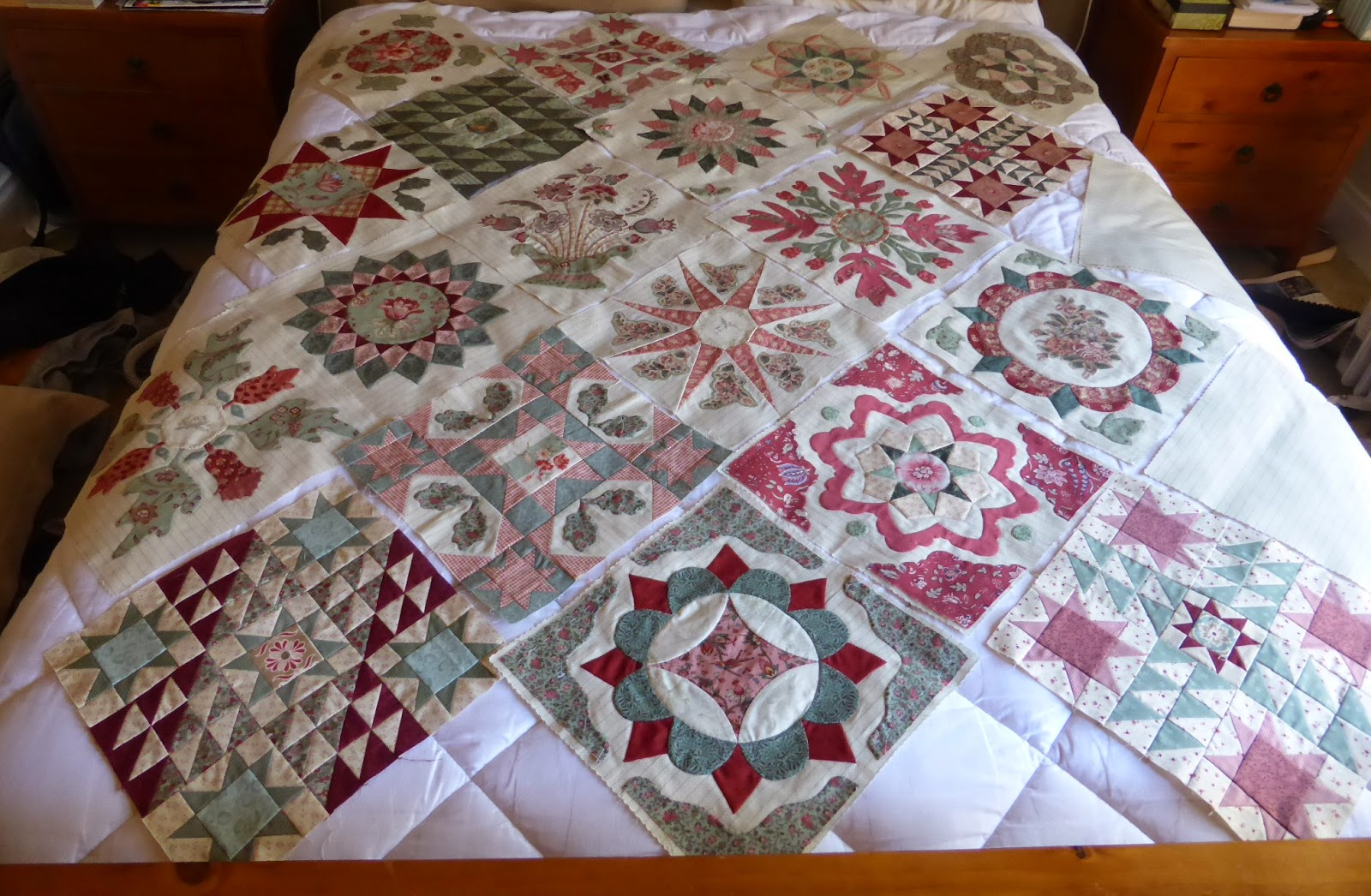 Antique Wedding Sampler quilt Di Ford