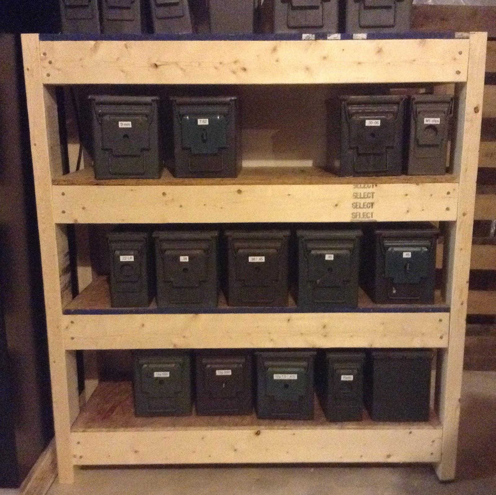 Diy Defense Ammo Shelves