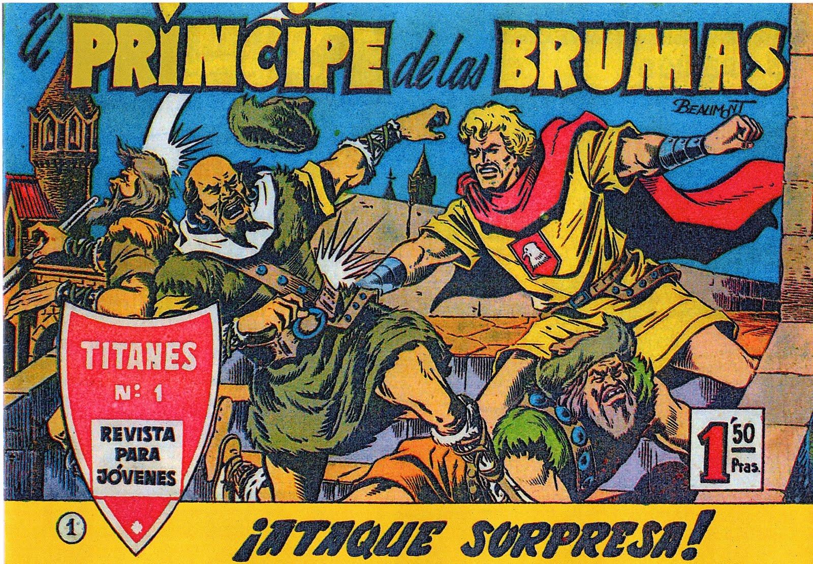 El príncipe de las brumas (16 tebeos)