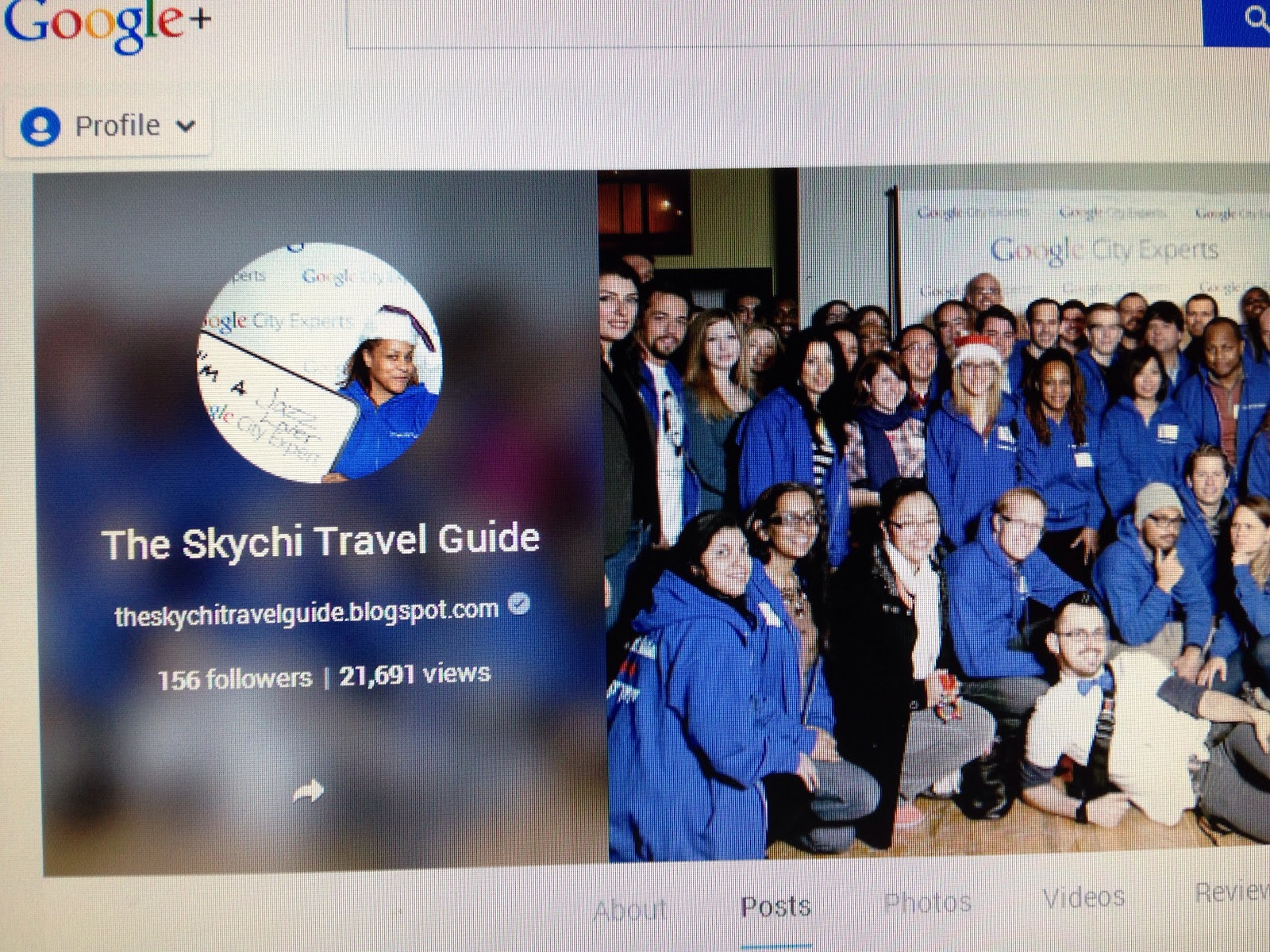 The Skychi Travel Guide Google Plus Page