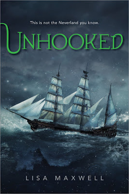 Cover of Unhooked by Lisa Maxwell on Amber, the Blonde Writer