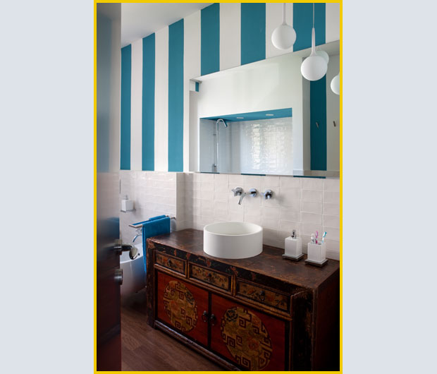 Interior Relooking: La parete a righe