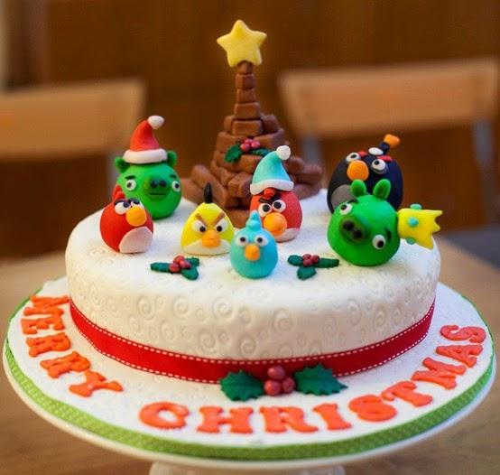 Beautiful Christmas Cake Images : Beautiful Christmas Cake Decoration Ideas - Unique Wallpaper