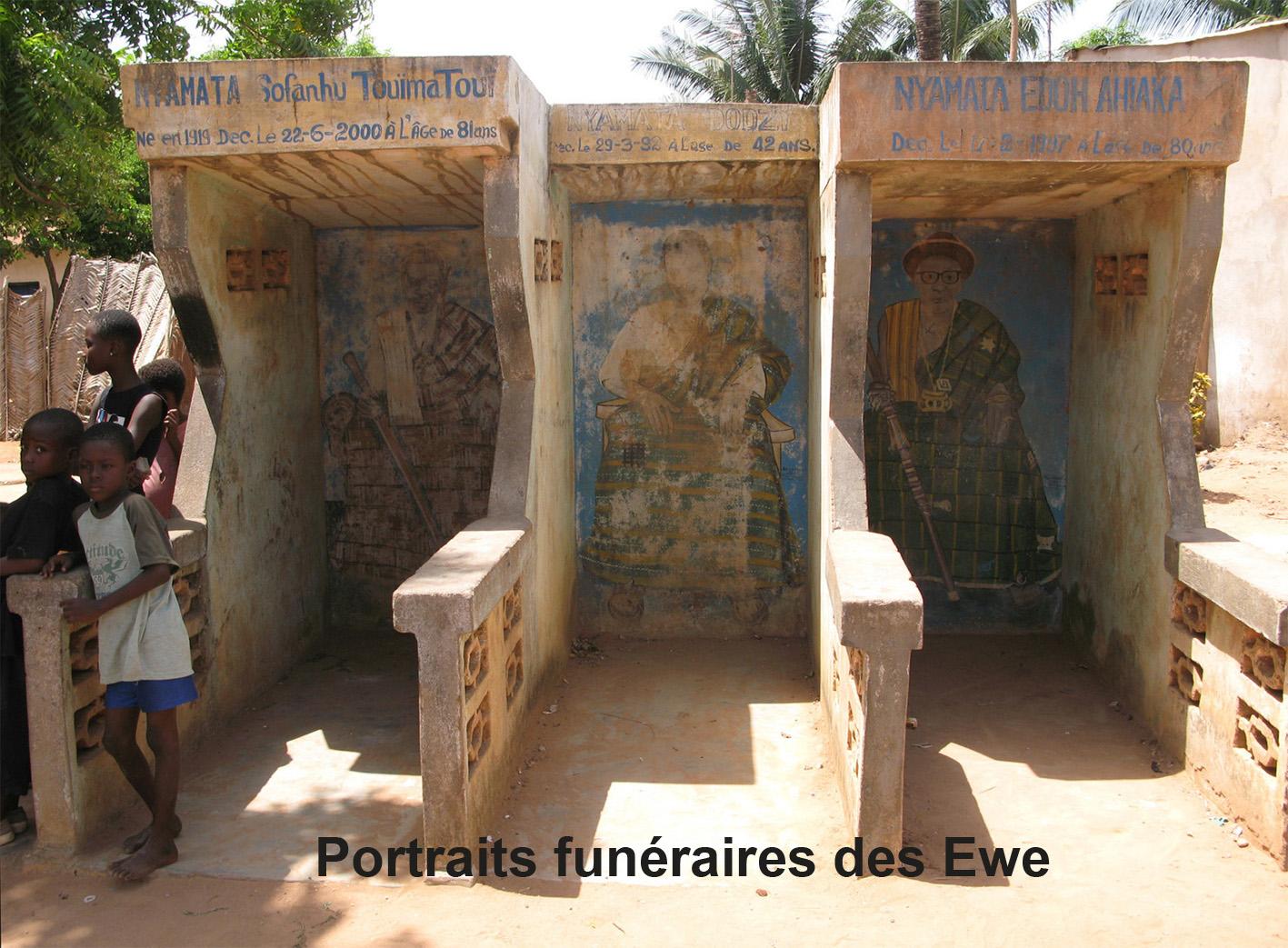 Portraits funéraires des Ewe/Funerary Ewe Portraits