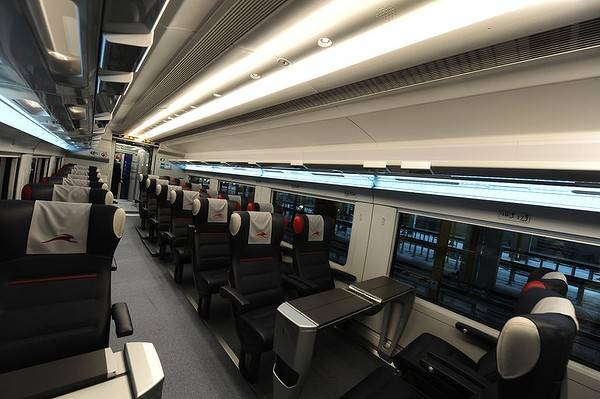 Italian high speed NTV Train