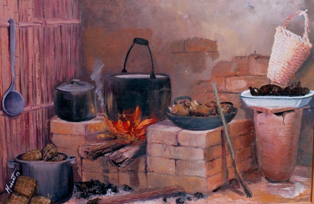 The ancient home - Fogones de lena ...