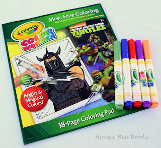 Teenage Mutant Ninja Turtles Crayola Color Wonder Mess Free Coloring In Kit