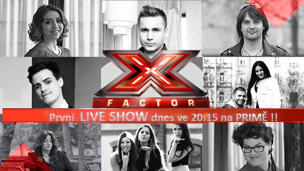 X FACTOR: Víme, co se bude zpívat na prvním živém semifinále!