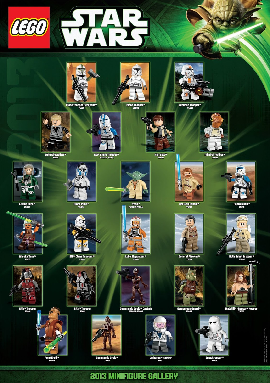 Star Wars Toys 2013 : Star wars official minifigures and sets old republic