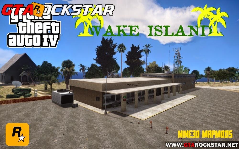 GTA IV - Wake Island (Ilha Realista)
