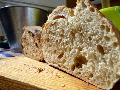 Panes de trigo con masa madre, blanco e integral de La Cocina de Babette