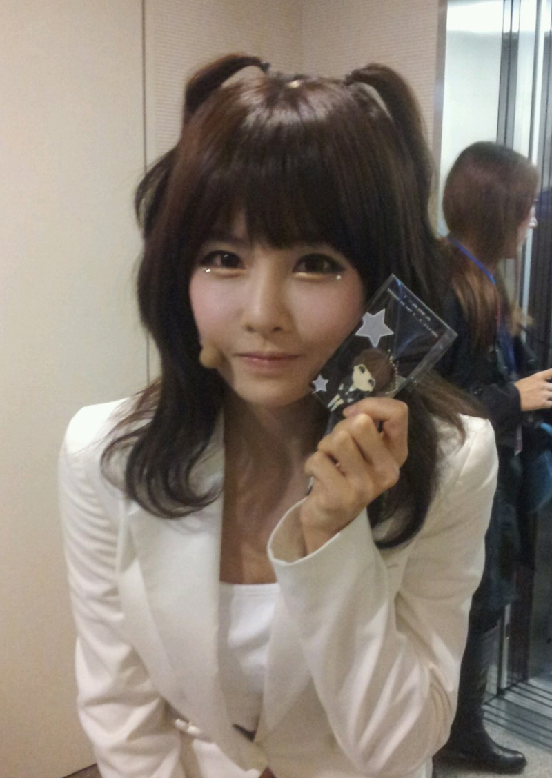 Boram and her adorable...