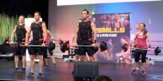 LesMills Bodypump med nya skivstänger