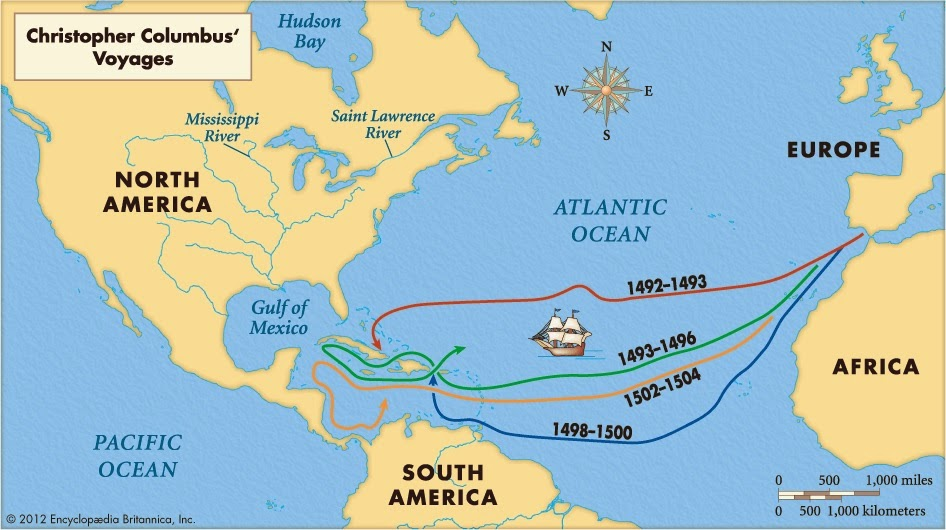 the discovery of america The discovery of america christopher columbus (1451-1506) was an italian  explorer who sailed across the atlantic ocean in 1492, hoping to find a route to.