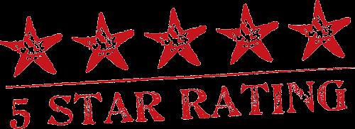 Movie rating stars