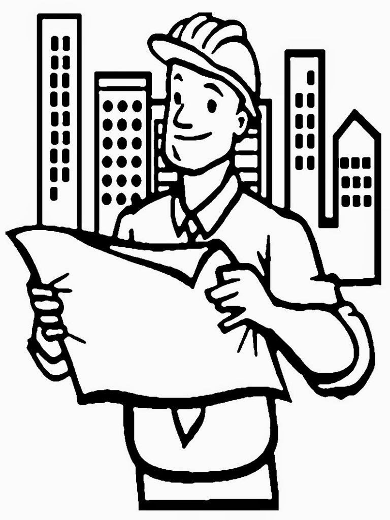 Architect Coloring Pages