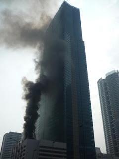 Keangnam Hanoi Tower Fire