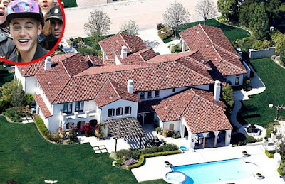 Justin Bieber's Calabasas Mansion - Cops House 2013