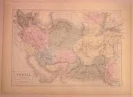 نقشه مستقل بلوچستان در سال 1845 م