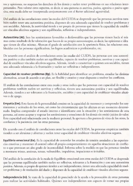 CUIDA- Cuestionario para la evaluación de adoptantes, cuidadores, tutores y Mediadores