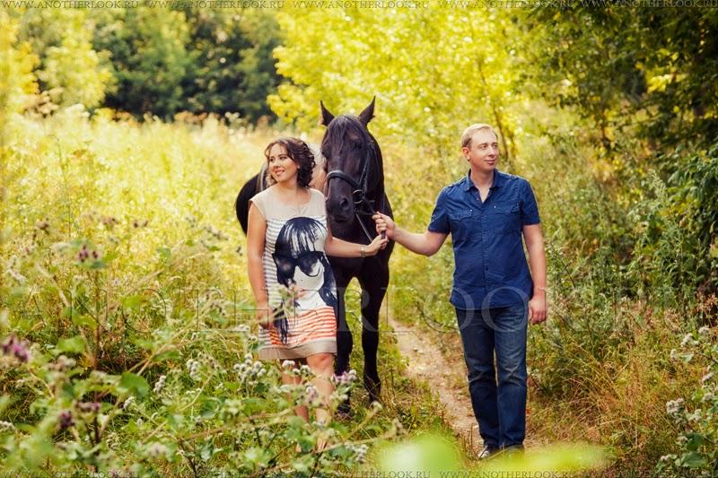 Фото-прогулка с лошадью