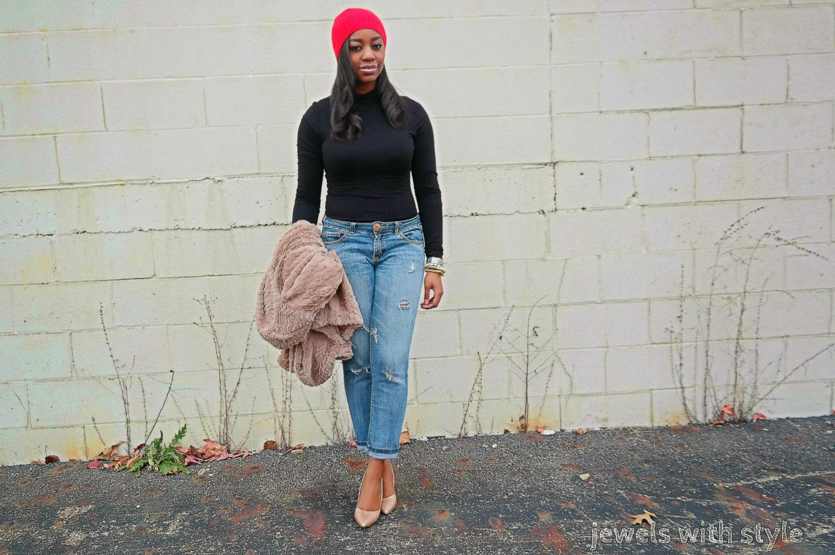 How to Dress up Jeans And a t