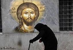 Το Ευαγγέλιο: Η καμπουριασμένη - συγκύπτουσα κοινωνία και κάποιοι πνευματικοί όροι επ-ανάστασης