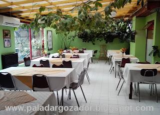 Restaurante Colo Colo Romeral terraza interior