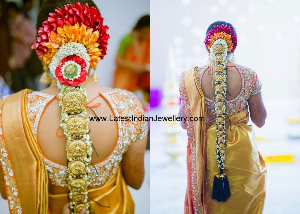 Indian bride Lakshmi gold jada