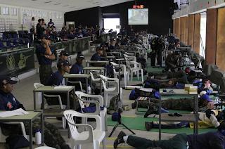 Jogos Desportivos do Exército 2013 - Fuzil Standard - Tiro Esportivo - Reprodução/CDE