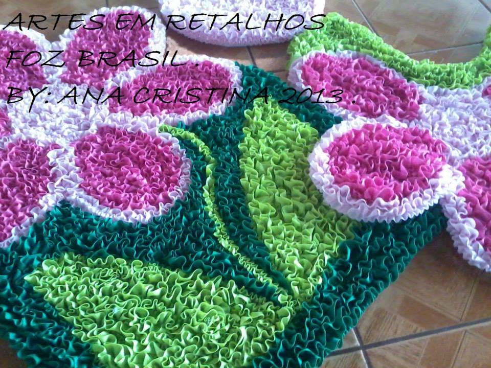 Arte Em Tapete De Retalho : Tapetes de corujinhas .Tapetes de bola . Tapetes de frutas .