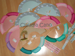 Mi blog de abanicos para bodas y eventos Claudia Cano.