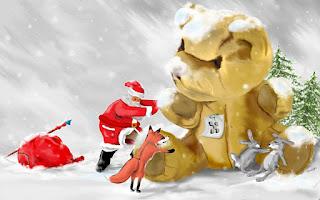 Funny Santa pc Desktop Images