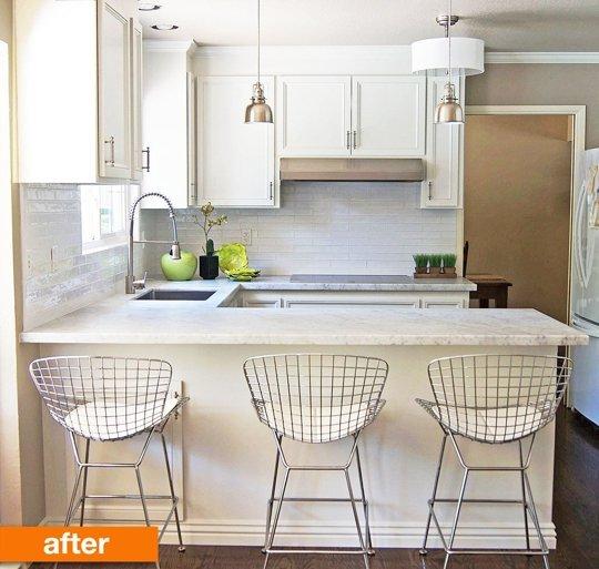 antes y después de cocina 1