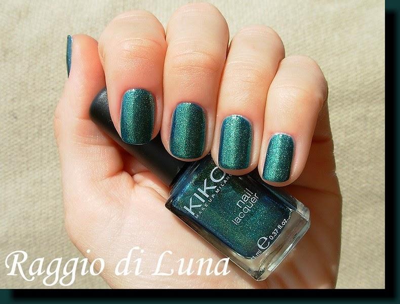 Raggio di Luna Nails: Kiko n° 532 Pearly Amazon Green