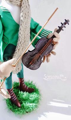 игрушечная скрипка