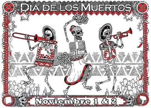 de Día de Muertos en México, está conformada a través de