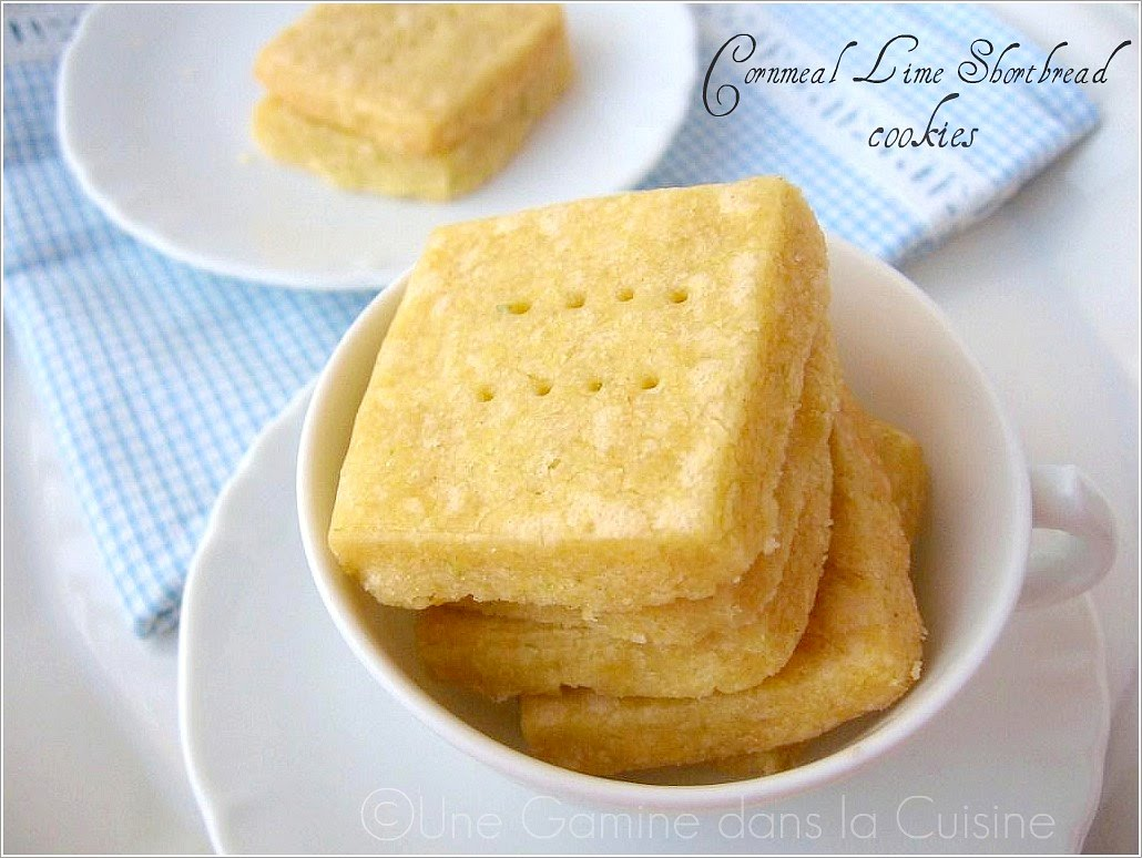 ... dans la cuisine: Tuesdays with Dorie: Cornmeal Shortbread Cookies