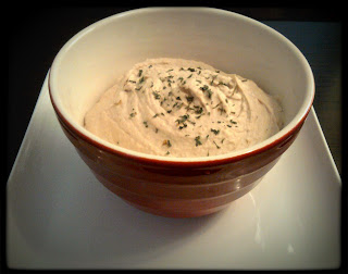 Recipe: Garlic white bean dip